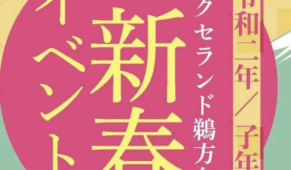 本日より2日間 新春フェア開催!
